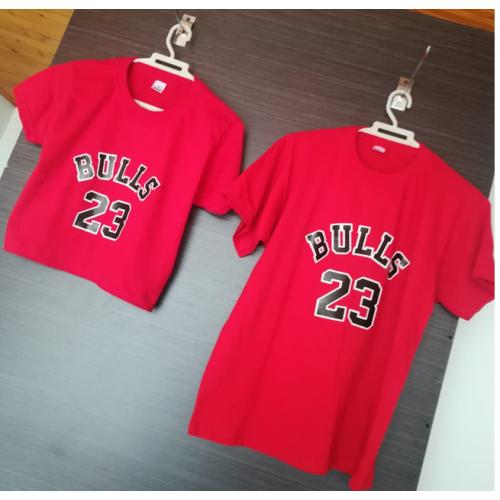 Camiseta Bulls dama y...